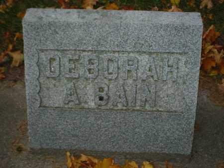 BAIN, DEBORAH A. - Ogle County, Illinois | DEBORAH A. BAIN - Illinois Gravestone Photos