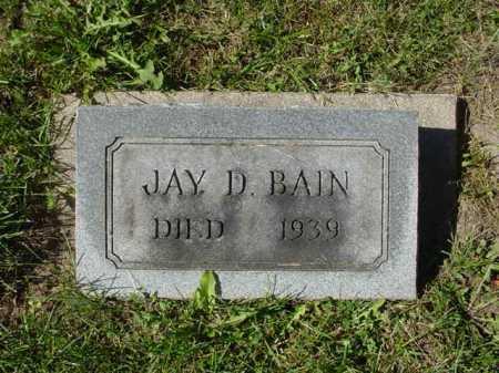 BAIN, JAY D. - Ogle County, Illinois | JAY D. BAIN - Illinois Gravestone Photos