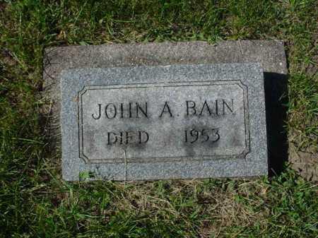 BAIN, JOHN A. - Ogle County, Illinois | JOHN A. BAIN - Illinois Gravestone Photos