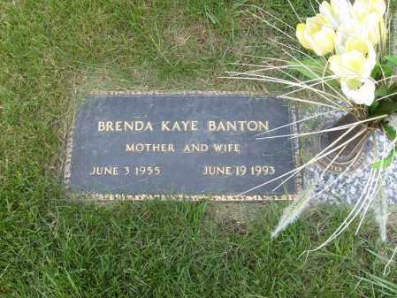 BANTON, BRENDA KAYE - Ogle County, Illinois | BRENDA KAYE BANTON - Illinois Gravestone Photos