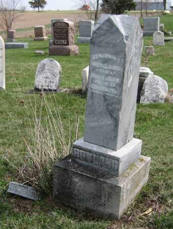 BENJAMIN FRANKLIN, ROWLAND - Ogle County, Illinois | ROWLAND BENJAMIN FRANKLIN - Illinois Gravestone Photos