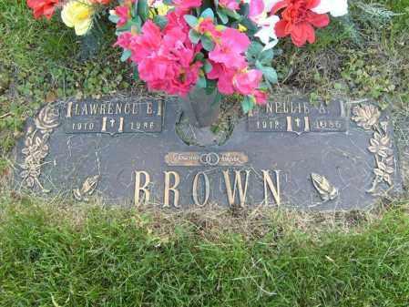 BROWN, LAWRENCE E - Ogle County, Illinois | LAWRENCE E BROWN - Illinois Gravestone Photos