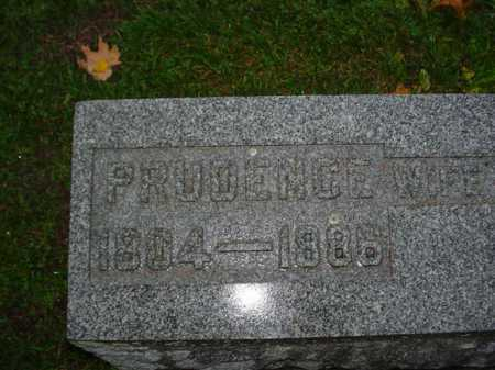 BROWN, PRUDENCE - Ogle County, Illinois | PRUDENCE BROWN - Illinois Gravestone Photos