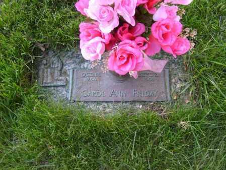 FRIDAY, CAROL ANN - Ogle County, Illinois | CAROL ANN FRIDAY - Illinois Gravestone Photos