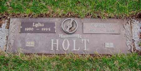 HOLT, LYDIA - Ogle County, Illinois | LYDIA HOLT - Illinois Gravestone Photos