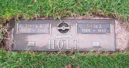 "WILLIAMS HOLT, SELLIA JANE ""SALLY"" - Ogle County, Illinois | SELLIA JANE ""SALLY"" WILLIAMS HOLT - Illinois Gravestone Photos"