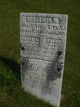 NOE, BENJAMIN W. - Ogle County, Illinois | BENJAMIN W. NOE - Illinois Gravestone Photos
