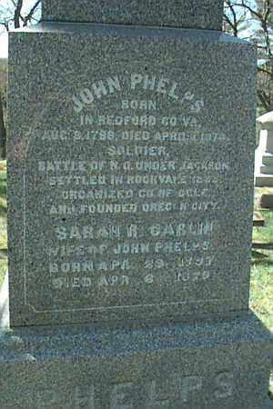 CARLIN PHELPS, SARAH - Ogle County, Illinois | SARAH CARLIN PHELPS - Illinois Gravestone Photos