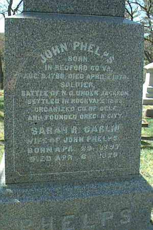 PHELPS, SARAH - Ogle County, Illinois | SARAH PHELPS - Illinois Gravestone Photos