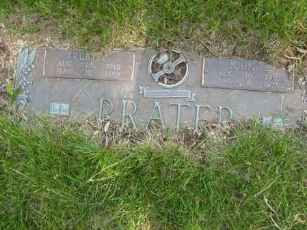 PRATER, JOHN L - Ogle County, Illinois | JOHN L PRATER - Illinois Gravestone Photos
