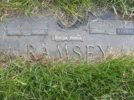 RAMSEY, ALEX Z - Ogle County, Illinois | ALEX Z RAMSEY - Illinois Gravestone Photos