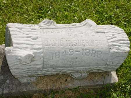 SHERWOOD, DAVID H. - Ogle County, Illinois   DAVID H. SHERWOOD - Illinois Gravestone Photos