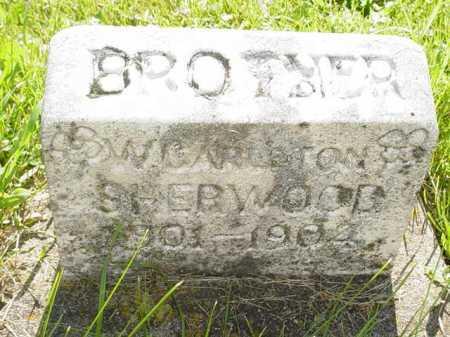 SHERWOOD, W. CARLETON - Ogle County, Illinois | W. CARLETON SHERWOOD - Illinois Gravestone Photos