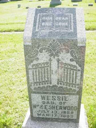 SHERWOOD, WESSIE - Ogle County, Illinois | WESSIE SHERWOOD - Illinois Gravestone Photos