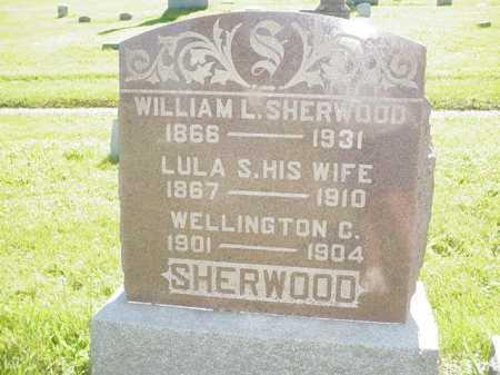 SHERWOOD, LULA S. - Ogle County, Illinois | LULA S. SHERWOOD - Illinois Gravestone Photos