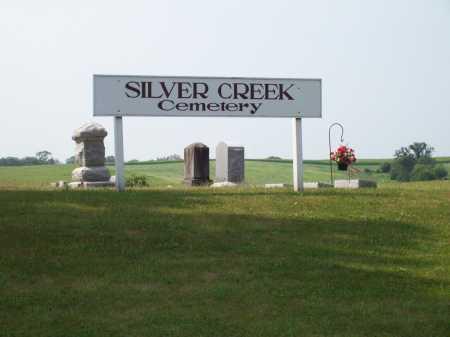 SILVER CREEK, CEMETERY - Ogle County, Illinois | CEMETERY SILVER CREEK - Illinois Gravestone Photos