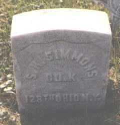 SIMMONS, S. H. - Ogle County, Illinois | S. H. SIMMONS - Illinois Gravestone Photos