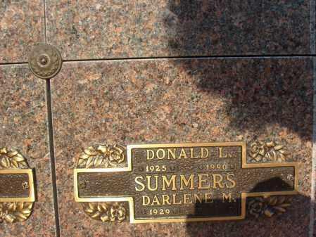 SUMMERS, DONALD L - Ogle County, Illinois   DONALD L SUMMERS - Illinois Gravestone Photos