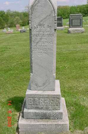 BARBER, ALICE M. - Peoria County, Illinois | ALICE M. BARBER - Illinois Gravestone Photos