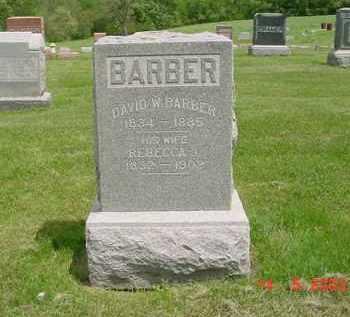 BARBER, DAVID W. - Peoria County, Illinois   DAVID W. BARBER - Illinois Gravestone Photos