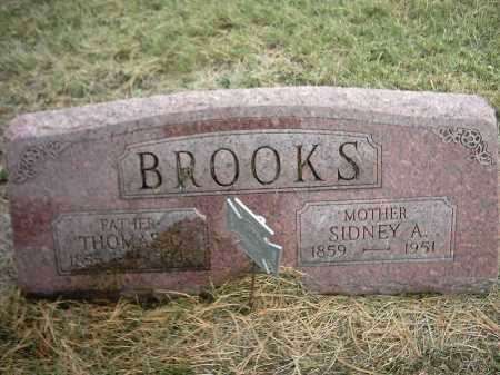 BROOKS, SYDNEY - Peoria County, Illinois | SYDNEY BROOKS - Illinois Gravestone Photos