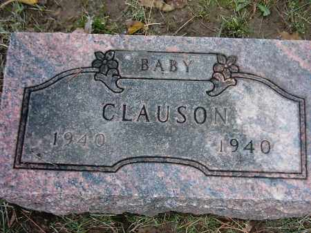 CLAUSON, BABY - Peoria County, Illinois | BABY CLAUSON - Illinois Gravestone Photos