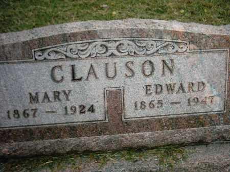 CLAUSON, EDWARD - Peoria County, Illinois | EDWARD CLAUSON - Illinois Gravestone Photos