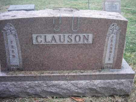 CLAUSON, FRED - Peoria County, Illinois | FRED CLAUSON - Illinois Gravestone Photos