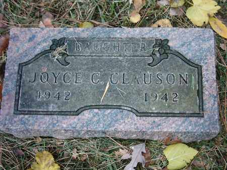 CLAUSON, JOYCE C - Peoria County, Illinois | JOYCE C CLAUSON - Illinois Gravestone Photos