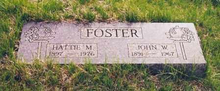 FOSTER, JOHN W. - Peoria County, Illinois | JOHN W. FOSTER - Illinois Gravestone Photos
