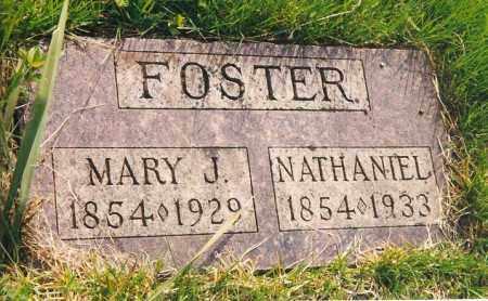 FOSTER, NATHANIEL - Peoria County, Illinois | NATHANIEL FOSTER - Illinois Gravestone Photos