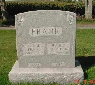 FRANK, RUTH D. - Peoria County, Illinois | RUTH D. FRANK - Illinois Gravestone Photos