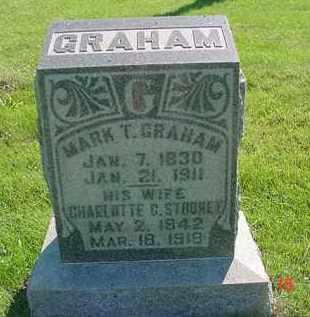 GRAHAM, MARK T. - Peoria County, Illinois   MARK T. GRAHAM - Illinois Gravestone Photos