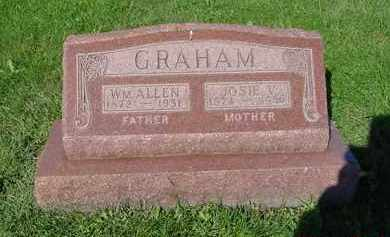 GRAHAM, JOSIE V. - Peoria County, Illinois | JOSIE V. GRAHAM - Illinois Gravestone Photos
