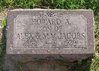 JACOBS, HOWARD J. - Peoria County, Illinois | HOWARD J. JACOBS - Illinois Gravestone Photos