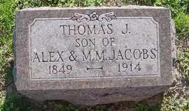 JACOBS, THOMAS J. - Peoria County, Illinois   THOMAS J. JACOBS - Illinois Gravestone Photos
