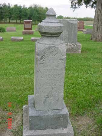 JACOBS, UPHEMA E. - Peoria County, Illinois | UPHEMA E. JACOBS - Illinois Gravestone Photos