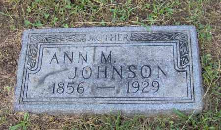 JOHNSON, ANN M. - Peoria County, Illinois | ANN M. JOHNSON - Illinois Gravestone Photos