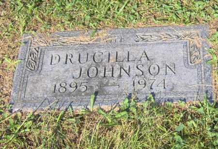 JOHNSON, DRUCILLA - Peoria County, Illinois | DRUCILLA JOHNSON - Illinois Gravestone Photos
