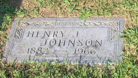 JOHNSON, HENRY J - Peoria County, Illinois | HENRY J JOHNSON - Illinois Gravestone Photos