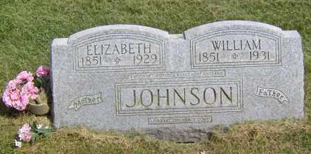 JOHNSON, ELIZABETH - Peoria County, Illinois | ELIZABETH JOHNSON - Illinois Gravestone Photos