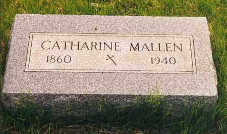 MALLEN, CATHARINE - Peoria County, Illinois | CATHARINE MALLEN - Illinois Gravestone Photos
