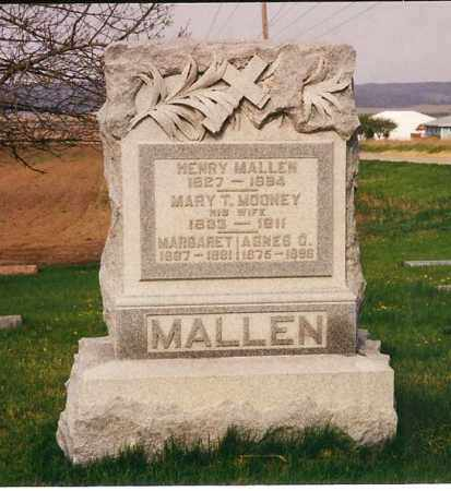 MOONEY MALLEN, MARY T. - Peoria County, Illinois | MARY T. MOONEY MALLEN - Illinois Gravestone Photos