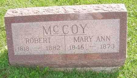 MCCOY, ROBERT - Peoria County, Illinois   ROBERT MCCOY - Illinois Gravestone Photos