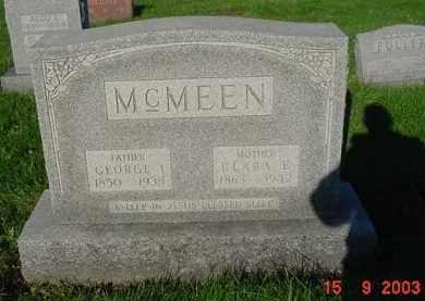 MCMEEN, CLARA E. - Peoria County, Illinois | CLARA E. MCMEEN - Illinois Gravestone Photos