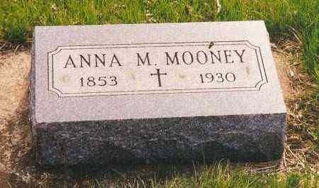 MOONEY, ANNA M. - Peoria County, Illinois | ANNA M. MOONEY - Illinois Gravestone Photos