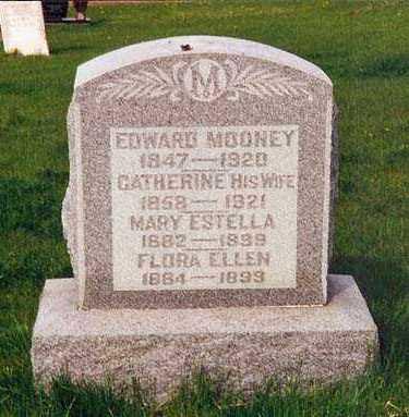 BURNES MOONEY, CATHARINE - Peoria County, Illinois | CATHARINE BURNES MOONEY - Illinois Gravestone Photos