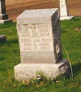 RODGERS MOONEY, MARY ANN - Peoria County, Illinois | MARY ANN RODGERS MOONEY - Illinois Gravestone Photos