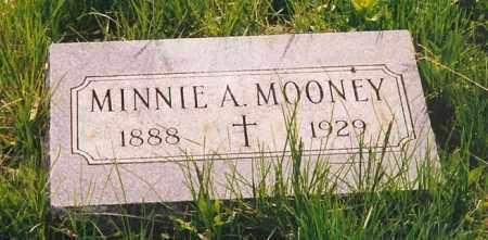 MOONEY, MINNIE A. - Peoria County, Illinois | MINNIE A. MOONEY - Illinois Gravestone Photos