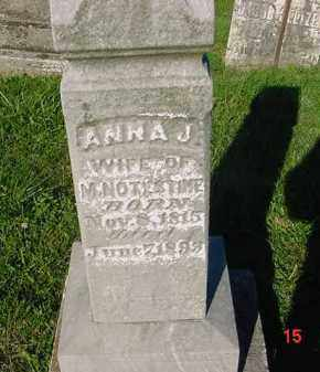 NOTESTINE, ANNA J. - Peoria County, Illinois | ANNA J. NOTESTINE - Illinois Gravestone Photos